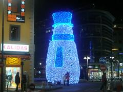 Andorra la Vella. Más muñecos (torresburriel) Tags: navidad luces nieve invierno vacaciones andorra muñecos