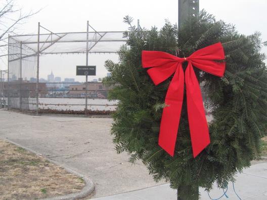 McCarren Park Wreath