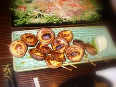 香菇串燒 醬油起司風