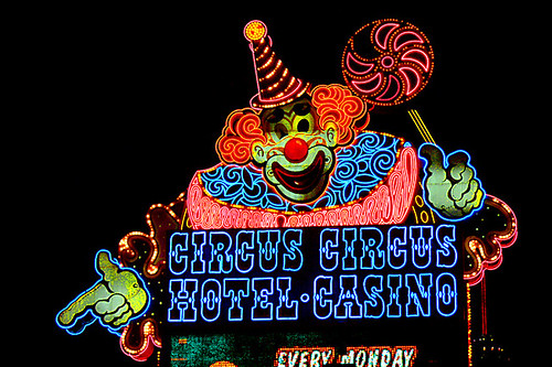 las vegas nevada circus circus. Circus Circus Casino, Las Vegas, Nevada (new370). www.neonstreetimages.com