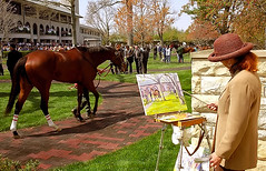 Lexington Kentucky - Keeneland Race Track \