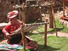 Wool weaving