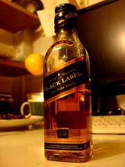 Johnny Walker Black Label Scotch Whisky by DomingoYo, on Flickr