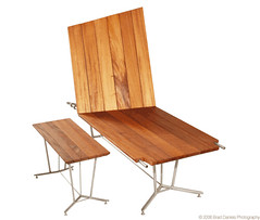 Barrow Bench and Stool (LOOMstudio) Tags: wood family sculpture art beautiful minnesota modern bench studio design cool outdoor furniture contemporary steel minneapolis barrow stainless loom picnicbench