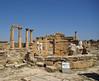Temple de Demèter i Core (exterior), àgora de Cirene