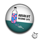 Poseball Pin - Absolut Second Life