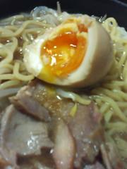 煮玉子 on ラーメン