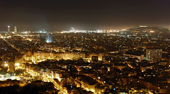 La part del dia que ms magrada (SlapBcn) Tags: barcelona longexposure nocturna slap polucion lanit lanoche 18200vr nikond80 slapbcn 171sec
