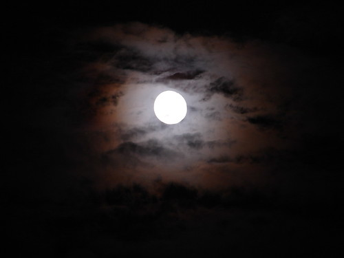 Halo en la luna