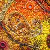 Detail Paisley & Shisha 2 (Karen Cattoire) Tags: original abstract art shisha handmade embroidery originalart creation fabric fiberart paisley beading textileart bjp tissu abstrait textiledart karencattoire fibretextile arttexilte
