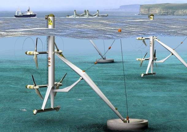 Aquanators - Turbinas bajo el agua