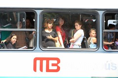 Metrobus Women / Mujeres del Metrobus (Ricardo Carreon) Tags: city people urban bus public mexico women mexicocity df gente transport ciudad urbano feed mulheres publictransport mujeres ciudaddemexico onibus distritofederal metrobus