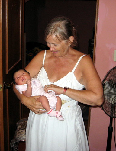 Sylvia with Devani