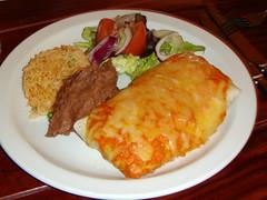 Chicken Enchiladas at La Cantina, Mexican Restaurant, Leith, Edinburgh