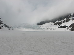 Standing On The Athabasca Glacier!