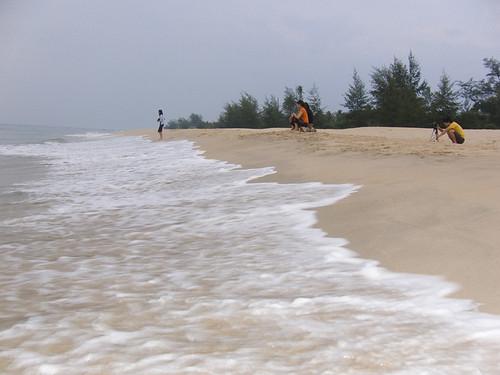 merang beach
