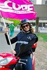 CUPE Member on Motorcycle