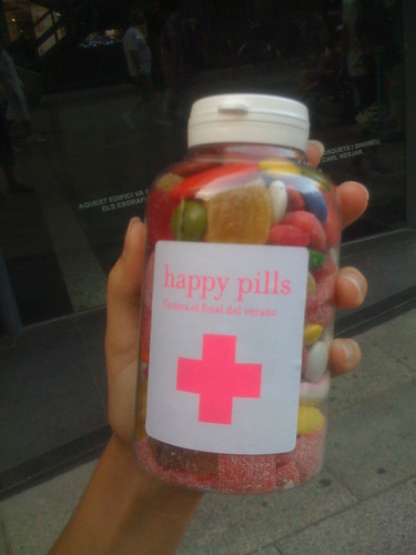 Happy Pills - Bote de pastillas
