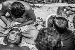 Theyyam - Human Gods of Kerala. (vjisin) Tags: theyyam kerala malabar humangod streetphotography art ritual india asia southindia temple culture civilisation indianheritage portrait 35mm godsowncountry nikon iamnikon nikond3200