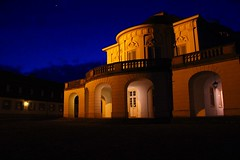 Legend (Nathalie_Désirée) Tags: legend myth mystery light architecture solitude stuttgart badenwuerttemberg germany castle evening bluehour balcony ancient monument king canoneos600d star cloud