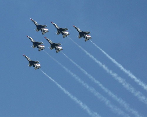 The Thunderbirds - F16 Falcon