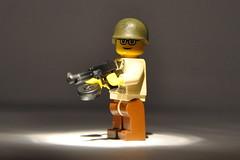 """Sgt. """"Badger"""" (The Ranger of Awesomeness) Tags: flickr lego wwii enigma badger roa brickarms lekjdkljgdljhfjhhdfbsjnm ndbflhjknd gbkjlnmdf enigmabadger"""