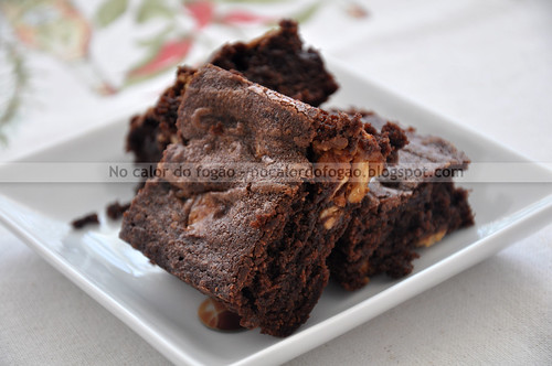 Wicked easy fudge brownie