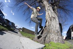 zach_diekman_tree_ride_Bozeman_MT_photo_Nick_weber (nickweber_mt) Tags: zach montana bozeman skateboarding missoula skate skateboard belgrade treeride diekman