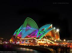 Lighting The Sails, Vivid Sydney 2011