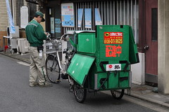 Delivery Bicycle Kyoto