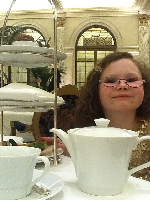 Very Pleased to be Having Tea
