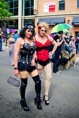 Edmonton Pride Parade 2011 (Kurayba) Tags: gay canada up hat festival proud umbrella lesbian out drag stand rainbow edmonton pentax posing police pride parade transgender queens cap ave alberta lgbt da week 102 bisexual avenue crossdresser transsexual k5 2011 18250 smcpda18250mmf3563edalif