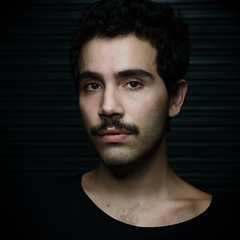 (leo.eloy) Tags: digital photography retrato bigode homem vicci leoeloy vitorespindola