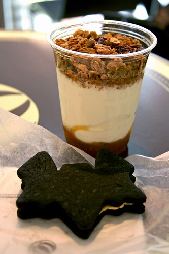 Granola Parfait & TKO Bat Cookie