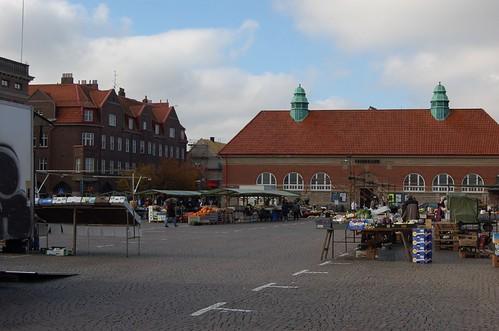 Market in Lund