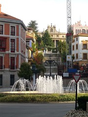 Vista del seminario de Oviedo