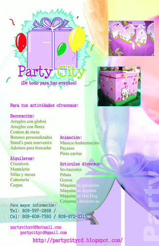 Brochure Servicios Party City