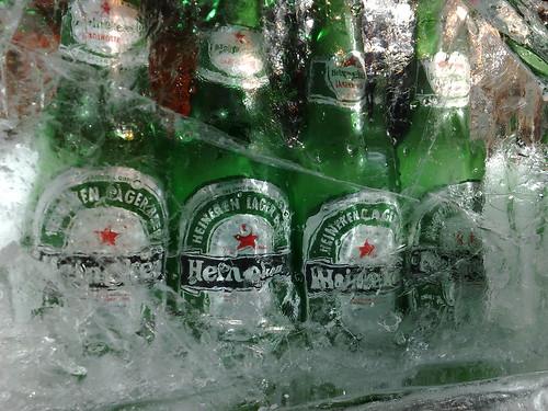 Heineken Extra Cold Beer.