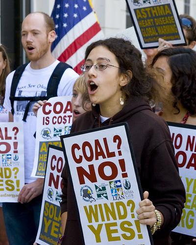 Rally - Say No to Coal Power Plants