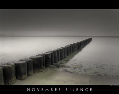 November Silence (Doblonaut) Tags: autumn seascape fall beach strand germany geotagged deutschland herbst balticsea groyne ostsee schleswigholstein timmendorferstrand buhne niendorf mywinners aplusphoto geo:lat=53992006 geo:lon=10804603