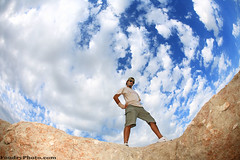 Do You Dare ? (A.alFoudry) Tags: blue sky cloud rock clouds canon island eos high full fisheye frame 5d kuwait fullframe مركز highness 15mm f28 ef ammar kuwaiti q8 abdullah عبدالله failaka canoneos5d kuw عمار q80 canonef15mmf28fisheye alothman العمل xnuzha alfoudry الفودري abdullahalfoudry 3ammar 5d365 foudryphotocom التطوعي العثمان kvwc kuwaitvoluntaryworkcenter ammarq8com ammarphotocom 3ammarq8com
