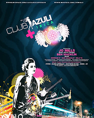 azuli + mos poster (vicky;) Tags: street party white black colors k night mos cores poster flyer rainbow ben ministry jo norman h sound zebra billy mills luciana macklin caporaso azuli