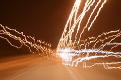 night traffic (ascendent) Tags: longexposure abstract pattern motionblur lightscape nighttraffic abstractlight