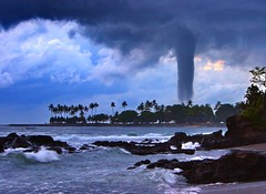 Tornado in Paradise, Senggigi Beach Lombok Indonesia