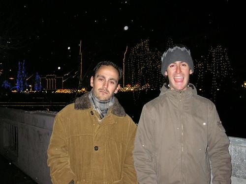 Nevando en Ljubljana