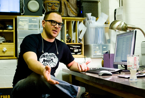 Cory Doctorow by Joi Ito