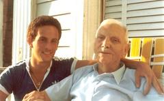 Grandpa John and Anthony 1982