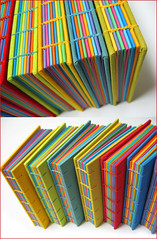 Livros multicoloridos (Zoopress studio) Tags: blue red orange color green colors yellow paper notebook cores book rainbow stitch handmade crafts feitoàmão artesanal craft books sketchbook colores livro papel libros livros bookbinding limitededition binding coptic sketchbooks caderno handmadebook papercraft notebooks reliure imadeitmyself costura handmadebooks cadernos papercrafting encadernação uniquebooks papéis encuadernacion zoopress copta linenthread encuadernación encadernaçãocopta zoopressstudio livrocopta exposedsewing costuraexposta linhadelinho stealingisbadkarma zoopressdesign