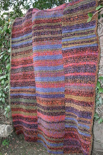 Crochet Panel Afghan Patterns : Ravelry: Prairie Stripes Crochet Throw / Three-Panel ...