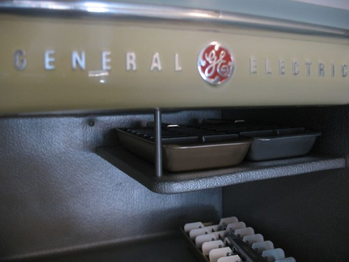 1954 GE Combination Fridge